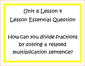 Go Math Grade 5 Unit 8 Essential Questions