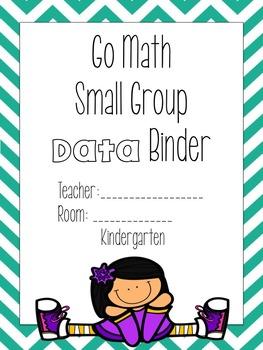 Go Math Grade K Data Analysis Binder