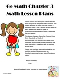 Go Math Grade One: Chapter 3 Lesson Plans