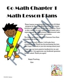Go Math Grade One: Chapters 1-3 Bundle