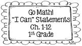 Go Math! Focus Board (1st Grade)