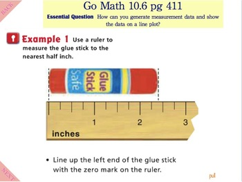 Go Math Interactive Mimio Lesson 10.6 Measure Length