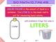 Go Math Interactive Mimio Lesson 10.7 Estimate and Measure Liquid Volume