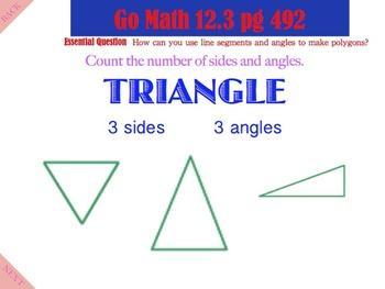 Go Math Interactive Mimio Lesson 12.3 Identify Polygons