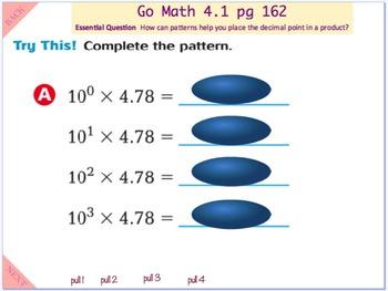 Go Math Interactive Mimio Lesson 4.1 Multiplication ...