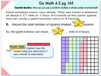Go Math Interactive Mimio Lesson Ch 4 Multiply Decimals