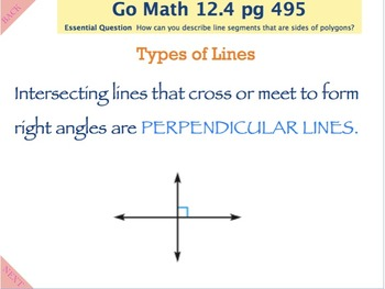 Go Math Interactive Mimio Lesson Chapter 12 Two Dimensional Shapes