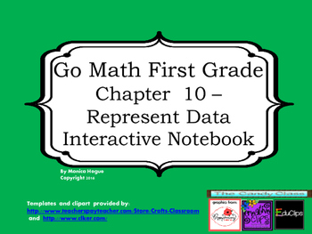 Go Math Interactive Notebook - Grade 1 Chapter 10