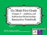 Go Math Interactive Notebook - Grade 1 Chapter 5