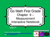 Go Math Interactive Notebook - Grade 1 Chapter 9