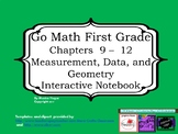 Go Math Interactive Notebook - Grade 1 Chapters 9-12
