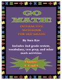 Go Math Interactive Notebook for 3rd Grade Chap. 3, 4 & 5-