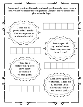 Go Math Interactive Notebook for 3rd Grade Chap. 6 and 7- Division