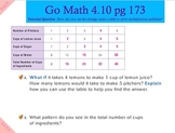 Go Math Interactive Mimio Lesson 4.10 Problem Solving Multiplication