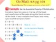 Go Math Interactive Mimio Lesson 4.8 Multiply with 8