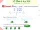 Go Math Interactive Mimio Lesson 6.8 Compare and Order Fractions