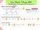 Go Math Interactive Mimio Lesson 7.8 Divide by 8