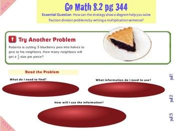 Go Math Interactive MImio Lesson 8.2 Problem Solving - Use Multiplication