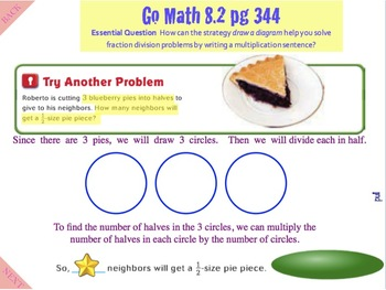 Go Math Interactive MImio Lesson 8.2 Problem Solving - Use Multiplication