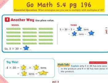 Go Math Interactive Mimio Lesson Chapter 5