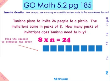 Go Math Interactive Mimio Lesson Chapter 5