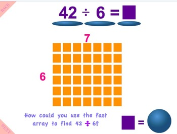 Go Math Interactive Mimio Lesson Ch 7 Division Facts & Strategies