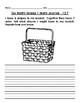 Go Math Journal Grade 1 - Chapter 12