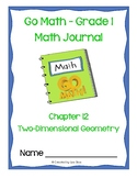 Go Math Journal Grade 1 - Chapter 12