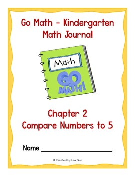 Go Math Kindergarten Journal  - Chapter 2