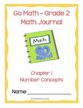 Go Math! Math Journal - Grade 2 - Chapter 1