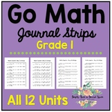 Go Math Journal Strips - Grade One