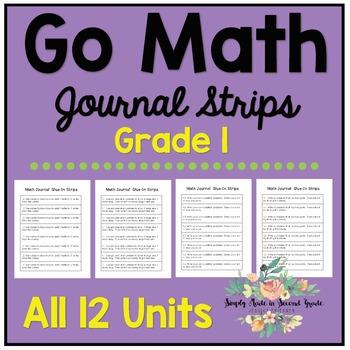 Go Math Journal Strips - Grade One