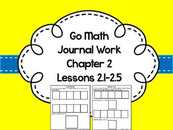 Go Math Journal Work Chapter 2