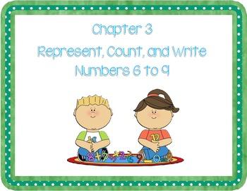 Go Math! K Chapter 3 Lesson Plans Version 2012