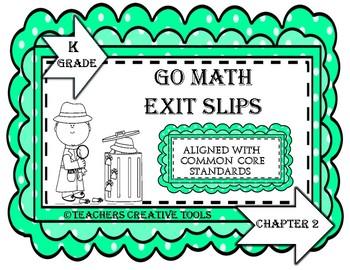 Go Math Kindergarten Assessment Chapter 2