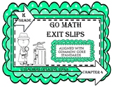 Go Math Kindergarten Assessment Chapter 4