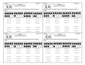 Go Math Kindergarten Assessment Chapter 4