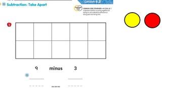 Go Math Kindergarten Ch 6 SmartBoard slides 2015-2016