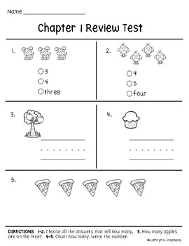 Go Math Kindergarten Worksheets