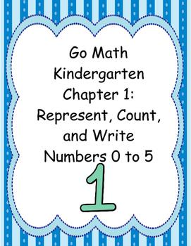 Go Math Kindergarten Chapter 1 Version 2015