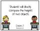 Go Math Kindergarten Chapter 11 Objectives
