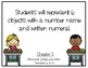 Go Math Kindergarten Chapter 3 Objectives