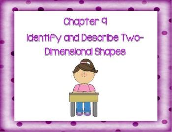Go Math! Kindergarten Chapter 9 Version 2012