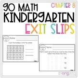 Go Math Kindergarten Exit Slips Chapter 8