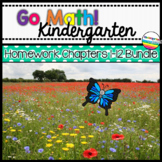 Go Math! Kindergarten Homework Bundle