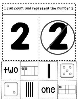 Common Core Kindergarten Interactive Math Notebook