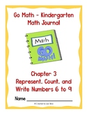 Go Math Kindergarten Journal - Chapter 3
