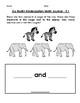 Go Math Kindergarten Journal  - Chapter 5