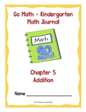 Go Math Kindergarten Journal  - Chapter 5