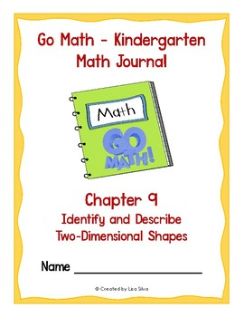 Go Math Kindergarten Journal - Chapter 9